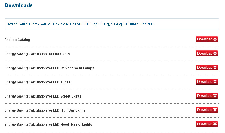 ENELTEC-LED download page