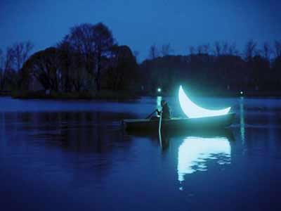 LED moon lights(3)