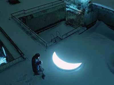 LED moon lights(4)