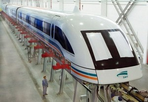 The scientists intended to create space  ul led street light maglev train