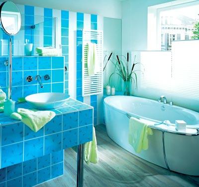 какого цвета д б ванна по феншуй
