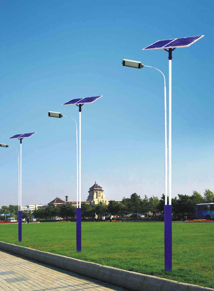 The influence comes from the solar powered led street lights – LED ...