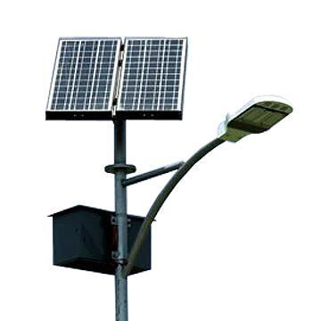 solar powered led street lights and led package