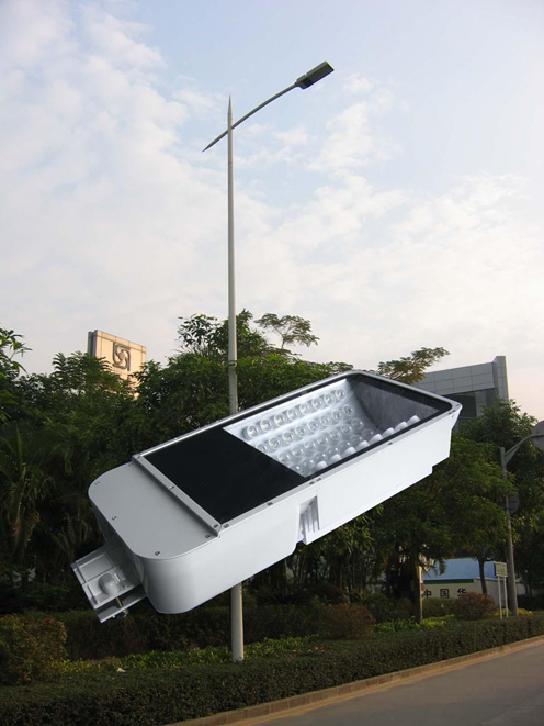 solar energy street lights and led strips