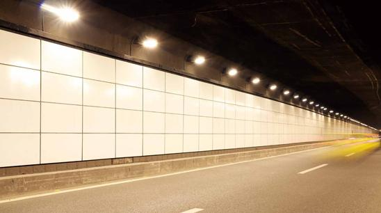 Thus an incompetent cooling design may dramatically cut down the lighting effect and working time of high-power LED tunnel lights.