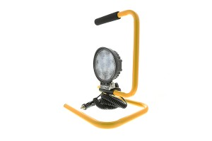 18W Portable High Powered LED Work Light with Stand Part Number: WLP-CWHP18-R120