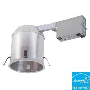 halo 6 in recessed led remodel insulation contact air