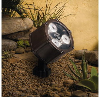Kichler 15733 4.5W 60° Wide Flood LED Accent Light Low Voltage Lighting from the Landscape Lighting Collection