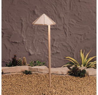 Kichler 15815 Design Pro LED Decorative Hammered Roof Low Voltage Path & Spread Light
