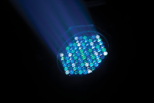 Q-Wash™ 560Z-LED 91high intensity and calibrated RGBWA Cree LEDs