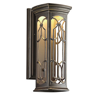 Kichler 49227LED Tuscan Single Light Medium LED Outdoor Wall Sconce from the Franceasi Collection