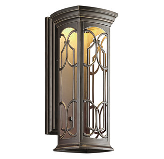 Kichler 49228LED Tuscan Single Light Large LED Outdoor Wall Sconce from the Franceasi Collection