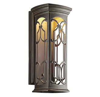 Kichler 49229LED Tuscan Single Light Extra Large LED Outdoor Wall Sconce from the Franceasi Collection