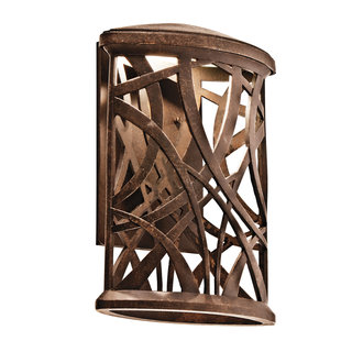Kichler 49248LED Modern Single Light LED Outdoor Wall Sconce from the Maya Palm Collection