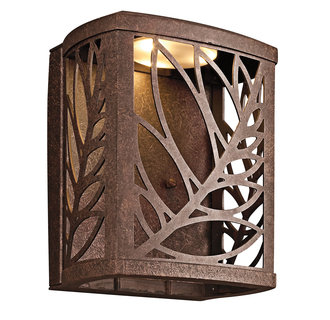 Kichler 49250 Tropical / Safari Single Light LED Outdoor Wall Sconce from the Takil Collection