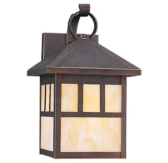 Sea Gull Lighting 80508S LED One Light Outdoor Wall Lantern from the Prairie Statement Collection