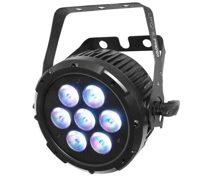 COLORdash™ Par-Quad 7 quad-colored RGBA LEDs