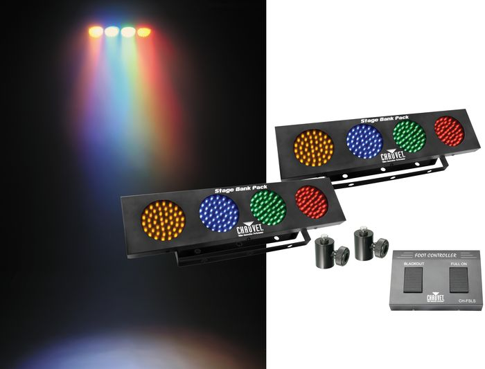 Chauvet Stage Bank Pack Lighting Package