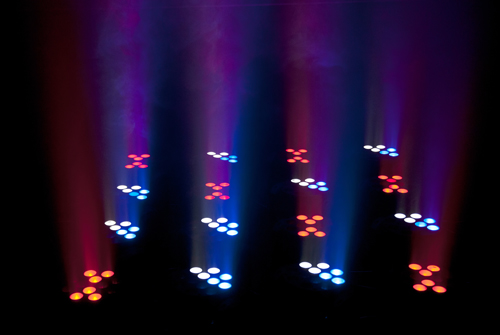 Legend™ 412 12 quad-colored RGBW Cree LEDs