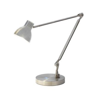 Adesso 3181 Sliver 1 Light LED Architect Desk Lamp