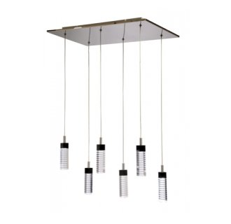 Artcraft Lighting AC6406 Contemporary / Modern 6 Light Down Lighting Chandelier from the Radiance Collection