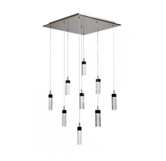 Artcraft Lighting AC6409 Contemporary / Modern 9 Light Down Lighting Chandelier from the Radiance Collection