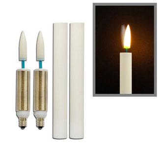 bulbrite 770101 6 led flkr e12 led retrofit flickering. Black Bedroom Furniture Sets. Home Design Ideas