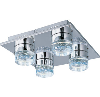 ET2 E22742 Fizz II 4 Light Flush Mount Ceiling Fixture