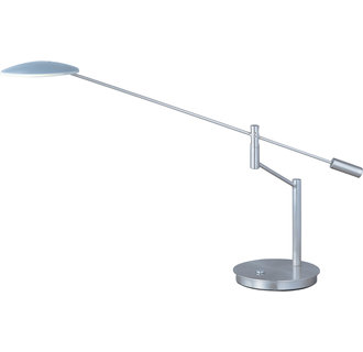 ET2 E41006 Contemporary / Modern LED Swing Arm Table Lamp from the Eco-Task Collection