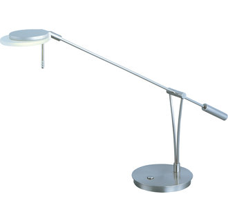 ET2 E41014 Contemporary / Modern LED Swing Arm Table Lamp from the Eco-Task Collection