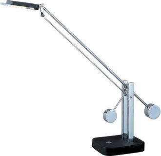 ET2 E41020 Contemporary / Modern LED Swing Arm Table Lamp from the Eco-Task Collection