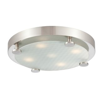 philips 190142217 flush 5 light led flushmount ceiling fixture led
