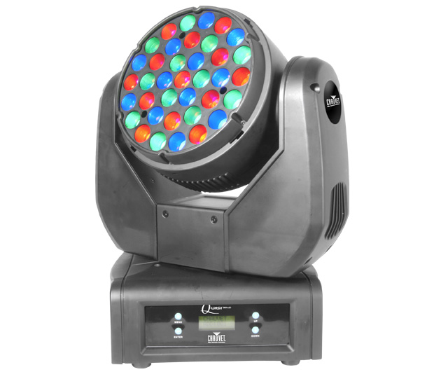 Q-Wash™ 260-LED high-power Cree LEDs