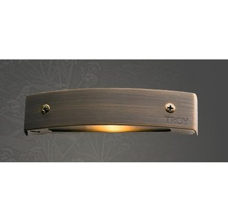 Troy Landscape R-P155B-LED Single Light 2 Watt LED Brass Material Micro Deck Light from the Wall/Surface Collection