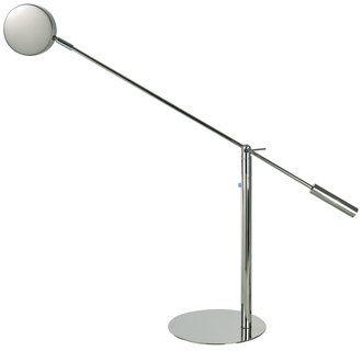 Trend Lighting TD2200 Polished Stainless Steel Table Lamp from the Slim Collection