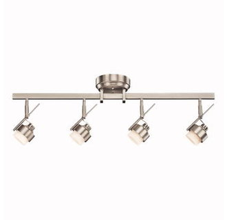 Kichler 10326 modern four light down lighting led track light kit the led light bulbs for the kichler 10326 can be replaced can i use a plug to plug it in what additional equipment would i need aloadofball Images