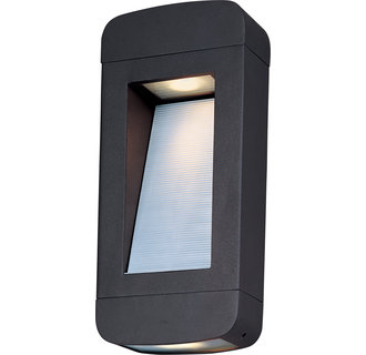 Maxim MX 88252 Contemporary / Modern 14 Inch 2 Light Dark Sky Outdoor Wall Sconce from the Optic LED Collection
