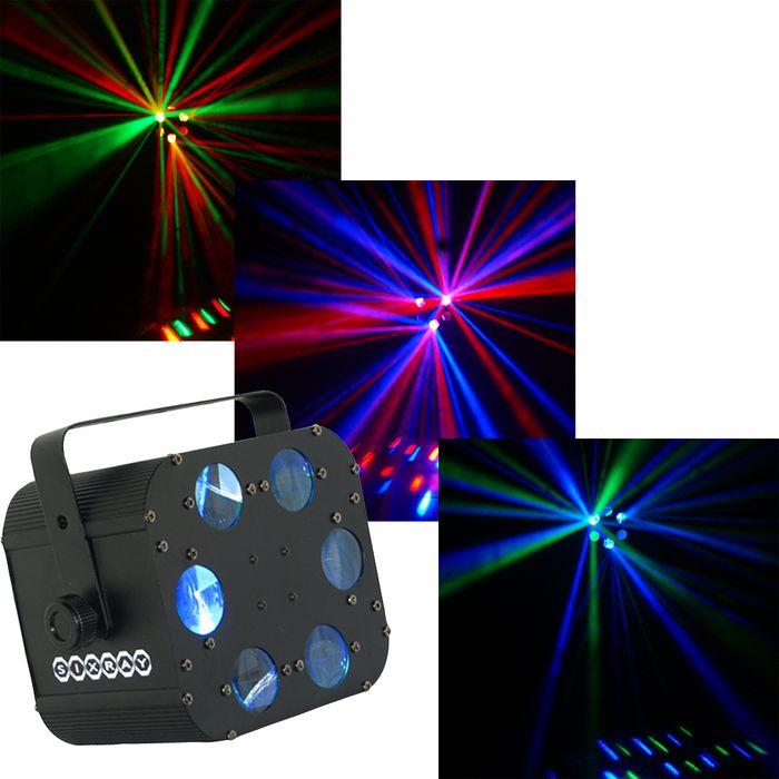OmniSistem LED Sixray Light Effect