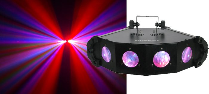 OmniSistem LED Quatrolume Effect Light