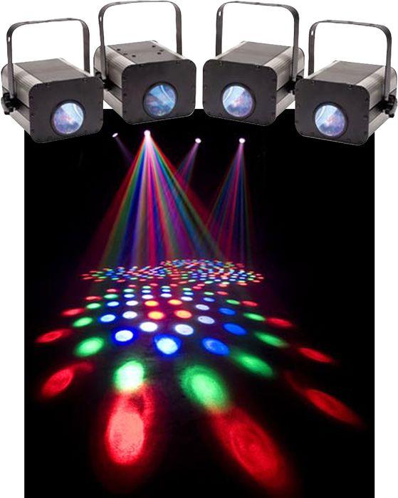 Eliminator Lighting Electro 4 Pak LED Moonflower System