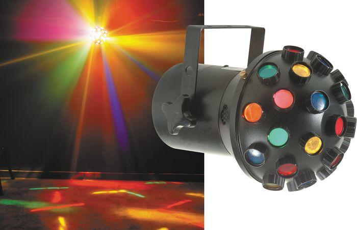 Eliminator Lighting Asteroid E143 Multicolor Effect Light