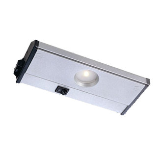 CSL Lighting NMA-LED-8 8 Inch Single Light LED Under Cabinet Lamp with Speedlink from the Mach120 Collection