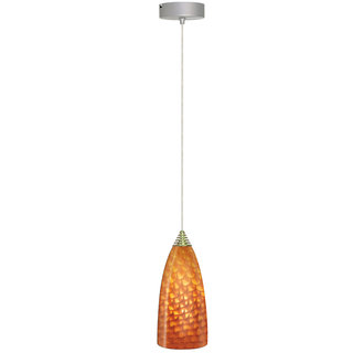 Elco EDL60N 1 Light LED Glass Pendant