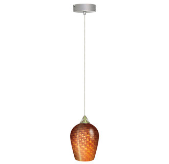 Elco EDL61N 1 Light LED Glass Pendant