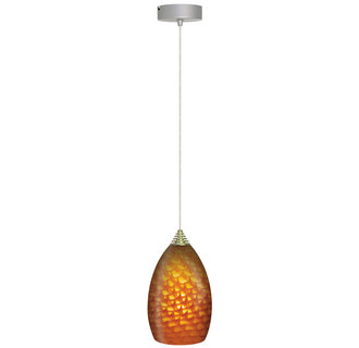 Elco EDL62N 1 Light LED Glass Pendant