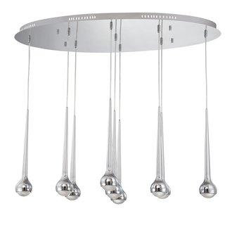 Eurofase Lighting 22962 Micro 9 Light Pendant with LED Bulbs