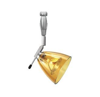 LBL Lighting Mini-Dome I Swivel I Mini-Dome I Swivel I Amber LED 2-Circuit Rail