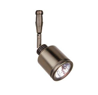 LBL Lighting Rev Swivel LED 2-Circuit Rail 1 Light Track Head
