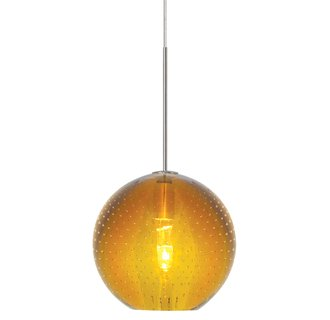 Lbl lighting bulle amber monopoint 1 light track pendant led lbllightinghs348ambz1b35mpt1 aloadofball Gallery