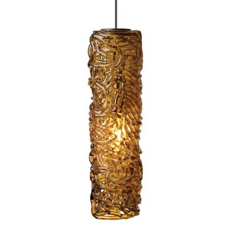 LBL Lighting Mini Isis LED Amber 6W 2-Circuit Rail 1 Light Mini Pendant Item #: BCI2040534